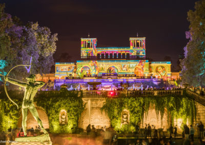 Potsdamer Schlössernacht 2019 - Illuminierte Orangerie ©Michael Clemens