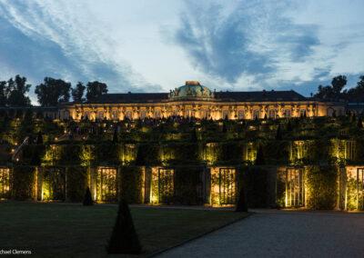Potsdamer Schlössernacht 2019 - Illuminiertes Schloss Sanssouci
